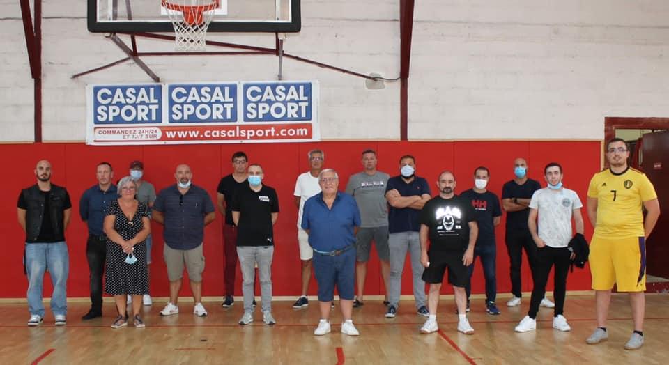 Nouveau Comité Directeur de l'ALM Basket
