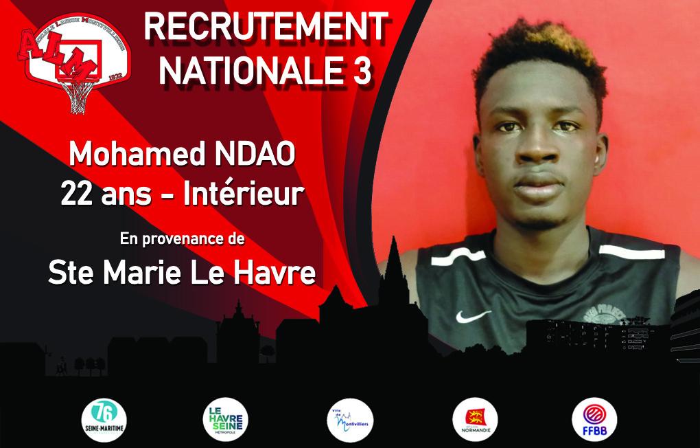 RECRUTEMENT 2021/2022 : Nationale 3