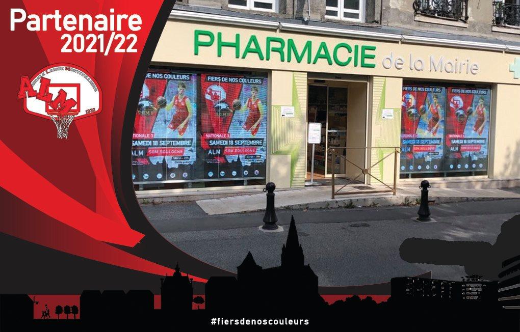 La pharmacie de la Mairie partenaire de l'ALM !